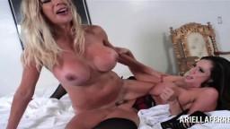 La colombiana Ariella Ferrera y la sueca Puma Swede son lesbianas tórridas - Vídeo porno hd