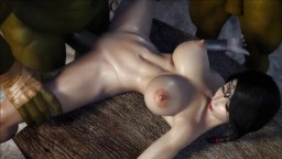 La hentai Samantha en doble penetración con monstruos - Vídeo porno hd