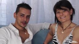 Una pareja amateur italiana intenta una experiencia sexual en el porno