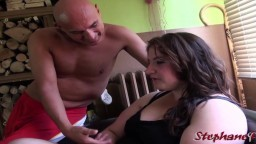 La gorda francesa Ambre y su sexo habitual - Vídeo porno hd