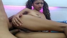 Sexo anal doloroso con una africana
